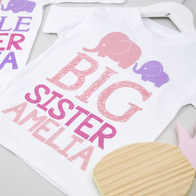 e9895ed7 personalised big sister little sister set by little baby boutique ...