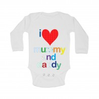 'I Love Mummy and Daddy' Bodysuit