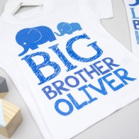 Personalised Big Brother Little Brother Set
