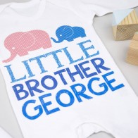 Personalised Big Sister Little Brother Set