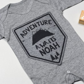 Personalised Adventure Babygrow
