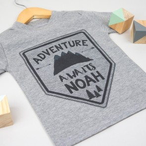 Personalised Adventure T Shirt