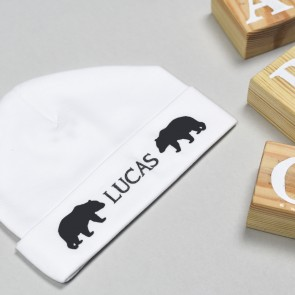 Personalised Bear Bib