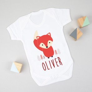 Personalised Fox Bodysuit
