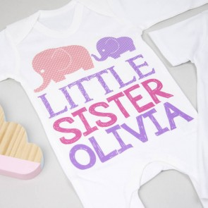 Personalised Big Sister Little Sister Set
