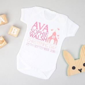 Personalised Christening Bodysuit