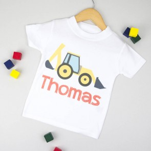 Personalised Digger T Shirt