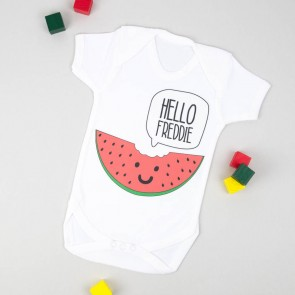Personalised Melon Bodysuit